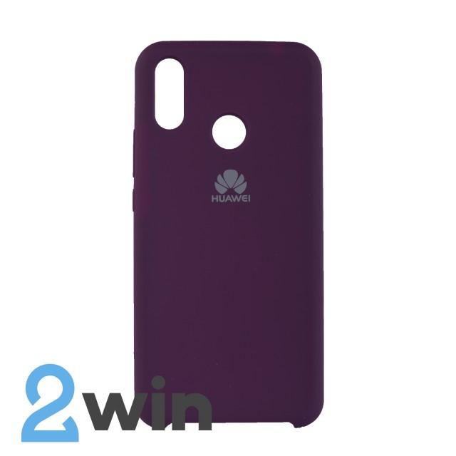 Чехол Jelly Silicone Case Huawei P Smart Plus Пурпурный
