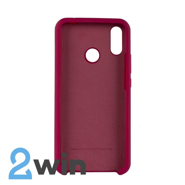 Чехол Jelly Silicone Case Huawei P Smart Plus Бордовый