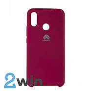 Чехол Jelly Silicone Case Huawei P Smart Plus Бордовый, фото 2