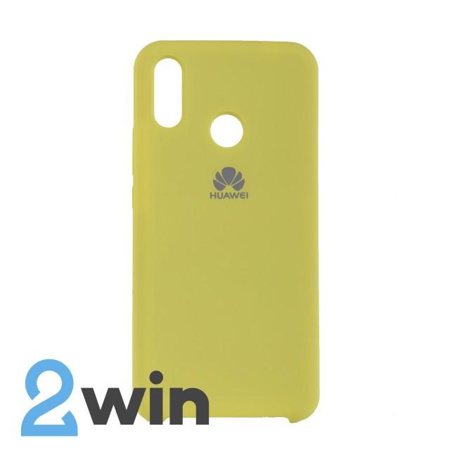Чехол Jelly Silicone Case Huawei P Smart Plus Желтый