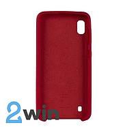 Чехол Jelly Silicone Case Samsung A10 Вишневый, фото 2