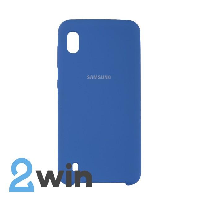 Чехол Jelly Silicone Case Samsung A10 Тахо Синий