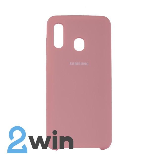 Чехол Jelly Silicone Case Samsung A20 Сладкая Вата