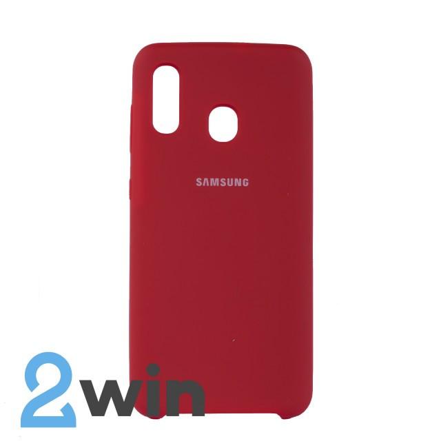 Чехол Jelly Silicone Case Samsung A30 Красный