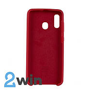 Чехол Jelly Silicone Case Samsung A30 Красный, фото 2