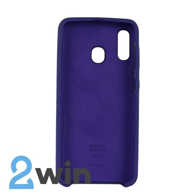 Чехол Jelly Silicone Case Samsung A30 Ультрафиолетовый