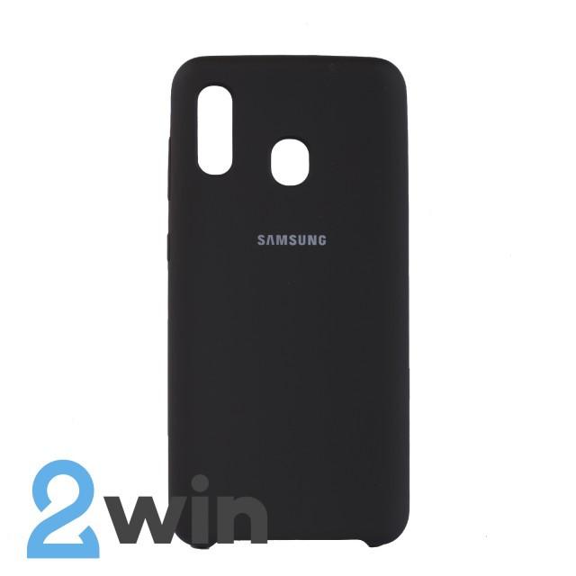 Чехол Jelly Silicone Case Samsung A30 Какао