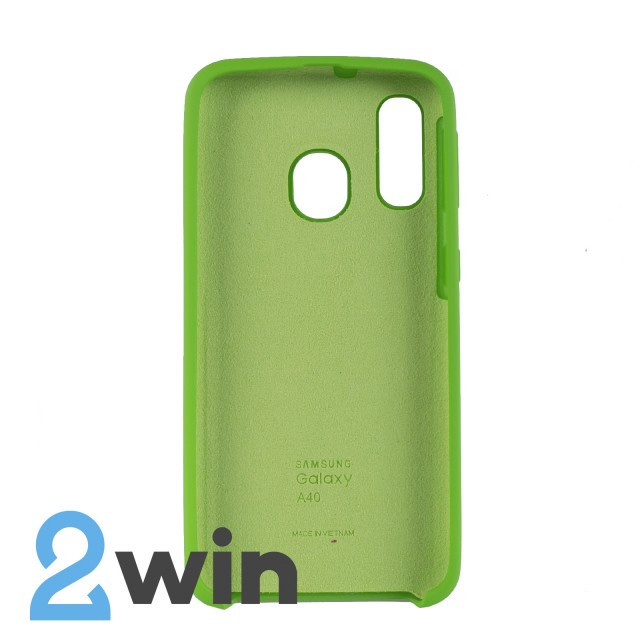 Чехол Jelly Silicone Case Samsung A40 Зеленый