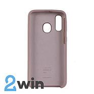 Чехол Jelly Silicone Case Samsung A40 Бежевый, фото 2