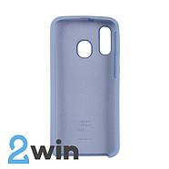 Чехол Jelly Silicone Case Samsung A40 Сиреневый Крем, фото 2