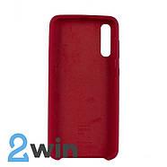 Чехол Jelly Silicone Case Samsung A50 Вишневый, фото 2
