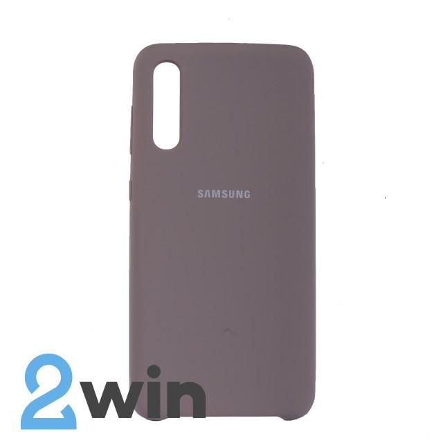 Чехол Jelly Silicone Case Samsung A50 Лавандовый