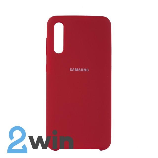 Чехол Jelly Silicone Case Samsung A50 Красный