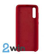 Чохол Jelly Silicone Case Samsung A50 Червоний, фото 2