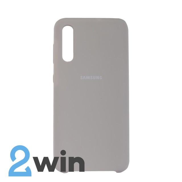 Чехол Jelly Silicone Case Samsung A50 Каменный