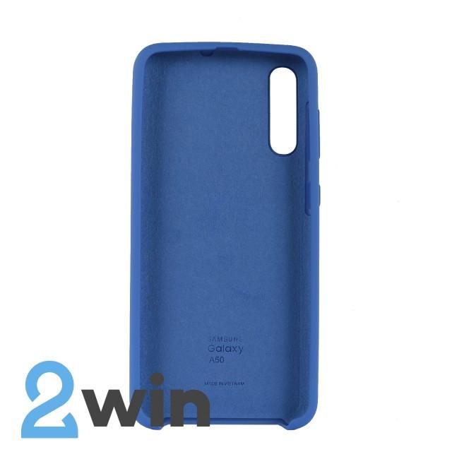 Чехол Jelly Silicone Case Samsung A50 Тахо Синий