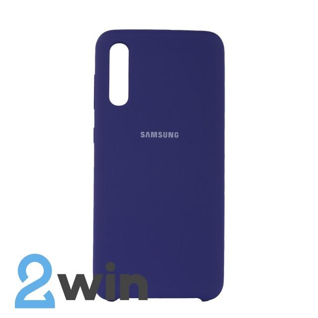 Чехол Jelly Silicone Case Samsung A50 Ультрафиолетовый