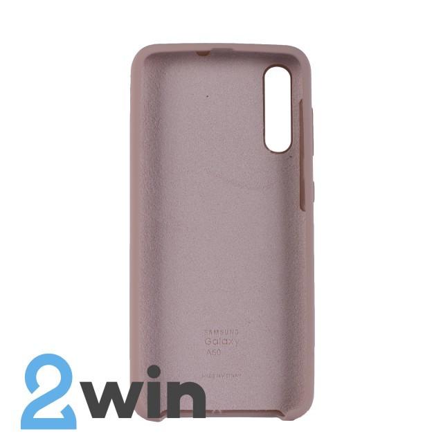 Чехол Jelly Silicone Case Samsung A50 Розовый Песок