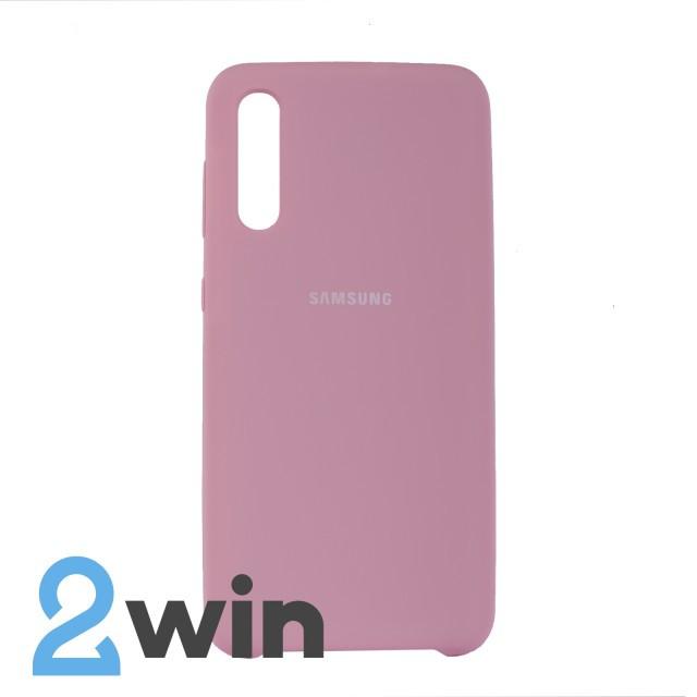 Чохол Jelly Silicone Case Samsung A50 Рожевий