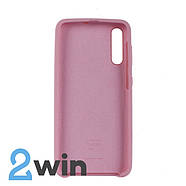Чохол Jelly Silicone Case Samsung A50 Рожевий, фото 2