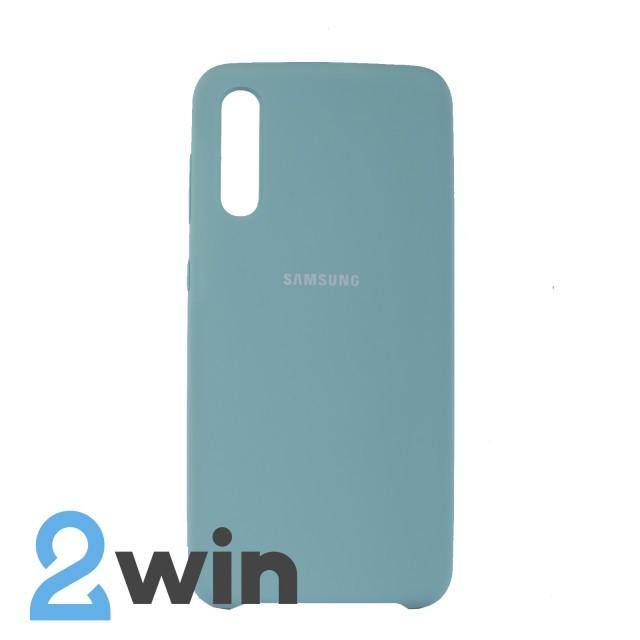 Чехол Jelly Silicone Case Samsung A50 Мятная Жвачка