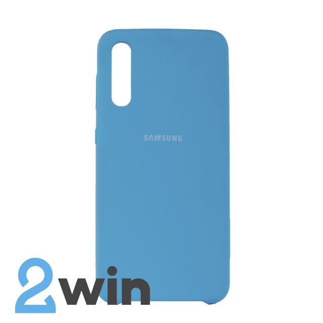 Чехол Jelly Silicone Case Samsung A50 Синий