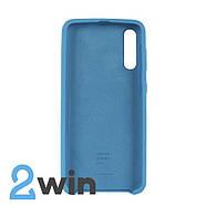 Чохол Jelly Silicone Case Samsung A50 Синій, фото 2