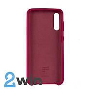 Чехол Jelly Silicone Case Samsung A50 Бордовый, фото 2