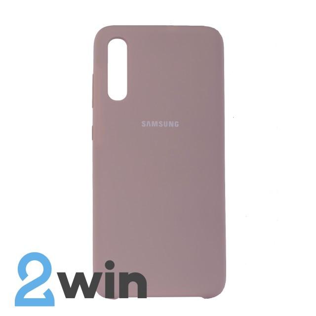 Чехол Jelly Silicone Case Samsung A70 Бежевый