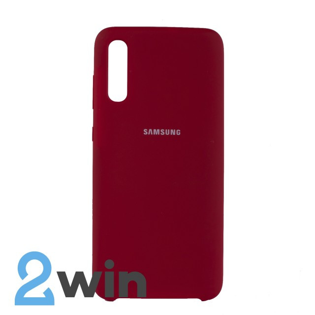 Чехол Jelly Silicone Case Samsung A70 Красный