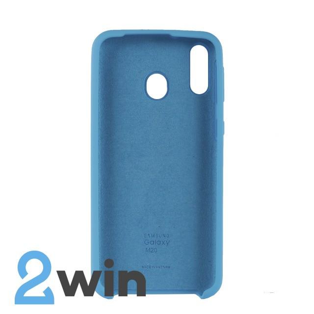 Чохол Jelly Silicone Case Samsung M20 Синій