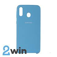 Чохол Jelly Silicone Case Samsung M20 Синій, фото 2
