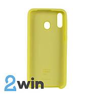 Чехол Jelly Silicone Case Samsung M20 Лимонный, фото 2