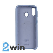Чехол Jelly Silicone Case Samsung M20 Сиреневый Крем, фото 2