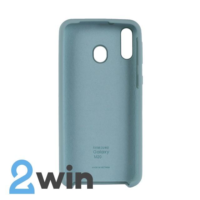 Чехол Jelly Silicone Case Samsung M20 Бирюзовый