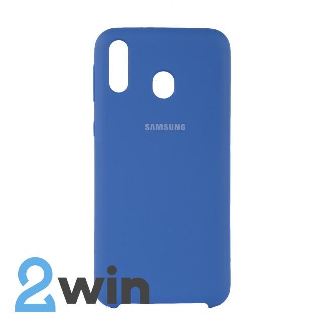 Чехол Jelly Silicone Case Samsung M20 Тахо Синий