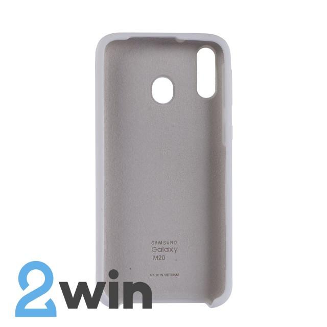 Чехол Jelly Silicone Case Samsung M20 Белый