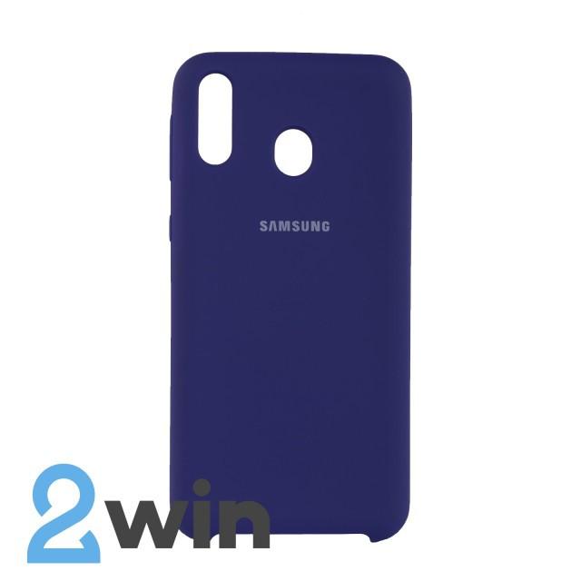 Чехол Jelly Silicone Case Samsung M20 Ультрафиолетовый