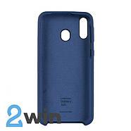 Чехол Jelly Silicone Case Samsung M20 Синий Кобальт, фото 2