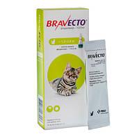 Бравекто капли от блох и клещей спот-он для котов 1,5-2,8 кг 125 мг MSD AH