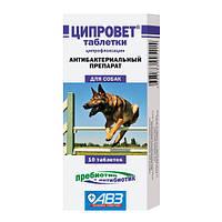 Ципровет таблетки для собак крупных и средних пород