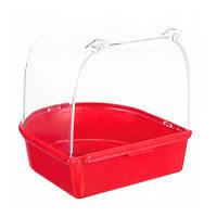 Купалка бассейн для попугаев 12*10*h11,5см  08541