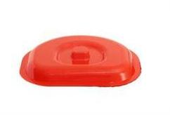 Кришка для відра пристінного 12 л -01-червоний Lamela
