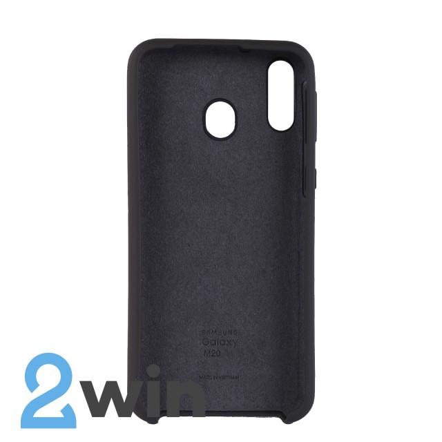 Чехол Jelly Silicone Case Samsung M20 Какао