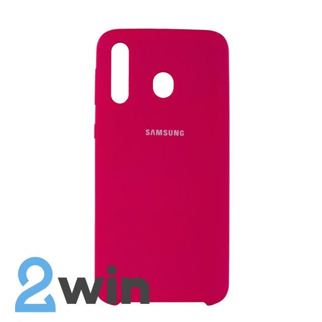 Чехол Jelly Silicone Case Samsung M30 Красная Роза