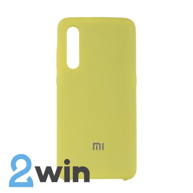 Чехол Jelly Silicone Case Xiaomi Mi 9 Желтый