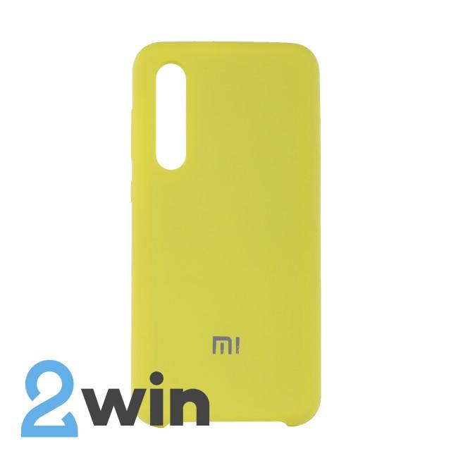 Чехол Jelly Silicone Case Xiaomi Mi 9 SE Желтый