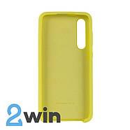 Чехол Jelly Silicone Case Xiaomi Mi 9 SE Желтый, фото 2