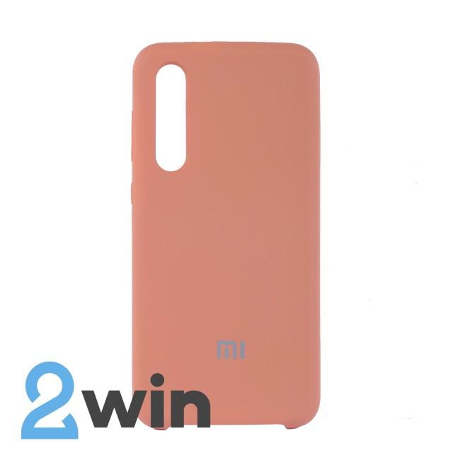 Чехол Jelly Silicone Case Xiaomi Mi 9 SE Бегония Красная