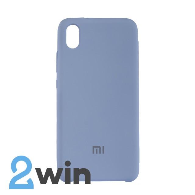 Чехол Jelly Silicone Case Xiaomi Redmi 7A Сиреневый Крем